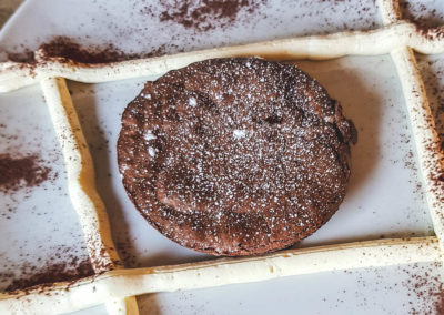 Foto_Piatti_Menu_Tenerina ferrarese al cioccolato con crema al mascarpone